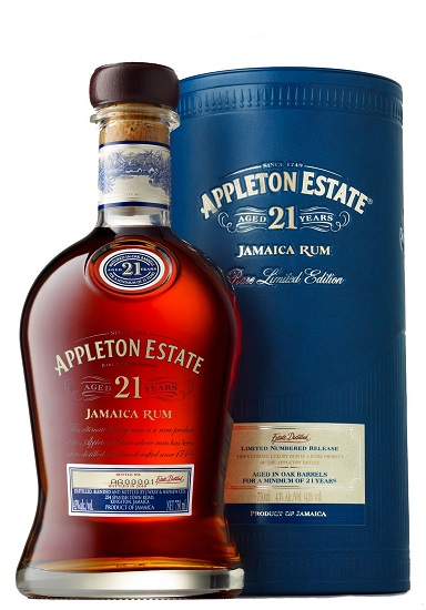 Appleton Estate 21 years 0,7L 43% dd.