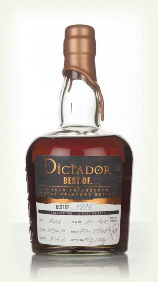 Dictador The Best of 1979 0,7L 42% Extremo