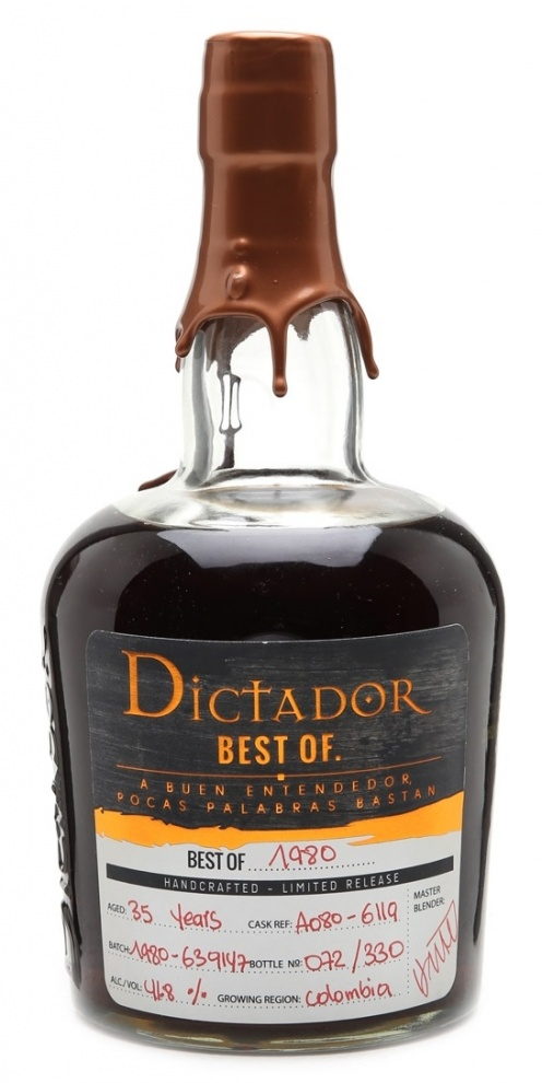 Dictador The Best of 1980 0,7L 41,8%