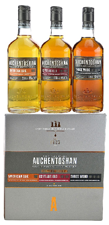 Auchentoshan Ultimate Collection pack (3*0,2L) 41% pdd.